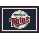 "Minnesota Twins 7' 8"" x 10' 9"" Team Spirit Area Rug by"