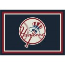 "New York Yankees 5' 4"" x 7' 8"" Team Spirit Area Rug by"