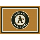 "Oakland Athletics 7' 8"" x 10' 9"" Team Spirit Area Rug by"