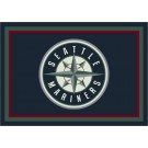 """Seattle Mariners 7' 8"""" x 10' 9"""" Team Spirit Area Rug by"""