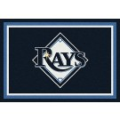 "Tampa Bay Rays 3'10"" x 5'4"" Team Spirit Area Rug"