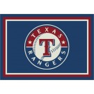 "Texas Rangers 2'8"" x 3'10"" Team Spirit Area Rug"