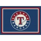 """Texas Rangers 7' 8"""" x 10' 9"""" Team Spirit Area Rug by"""
