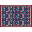 "Chicago Cubs 7' 8"" x 10' 9"" Team Repeat Area Rug by"