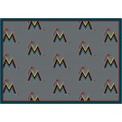 "Miami Marlins 7' 8"" x 10' 9"" Team Repeat Area Rug"