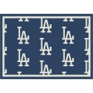 """Los Angeles Dodgers 7' 8"""" x 10' 9"""" Team Repeat Area Rug by"""
