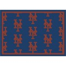 "New York Mets 7' 8"" x 10' 9"" Team Repeat Area Rug by"