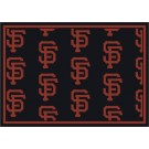"""San Francisco Giants 7' 8"""" x 10' 9"""" Team Repeat Area Rug by"""