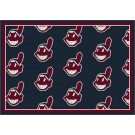 "Cleveland Indians 7' 8"" x 10' 9"" Team Repeat Area Rug by"