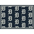 """Detroit Tigers 7' 8"""" x 10' 9"""" Team Repeat Area Rug by"""