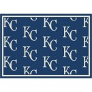 """Kansas City Royals 7' 8"""" x 10' 9"""" Team Repeat Area Rug by"""