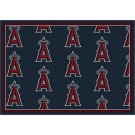 "Los Angeles Angels of Anaheim 7' 8"" x 10' 9"" Team Repeat Area Rug by"