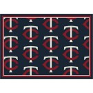 "Minnesota Twins 7' 8"" x 10' 9"" Team Repeat Area Rug by"