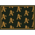 "Oakland Athletics 7' 8"" x 10' 9"" Team Repeat Area Rug by"