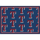 """Texas Rangers 7' 8"""" x 10' 9"""" Team Repeat Area Rug by"""