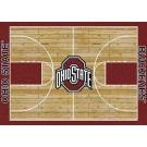 "Ohio State Buckeyes 7' 8"" x 10' 9"" Home Court Area Rug by"
