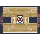 "Arizona Wildcats 7' 8"" x 10' 9"" Home Court Area Rug by"