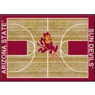 "Arizona State Sun Devils 7' 8"" x 10' 9"" Home Court Area Rug by"