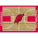 "Arkansas Razorbacks 7' 8"" x 10' 9"" Home Court Area Rug by"
