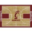 "Cincinnati Bearcats 7' 8"" x 10' 9"" Home Court Area Rug by"