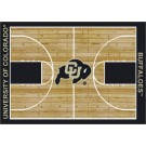 "Colorado Buffaloes 7' 8"" x 10' 9"" Home Court Area Rug by"