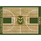"""Colorado State Rams 7' 8"""" x 10' 9"""" Home Court Area Rug by"""