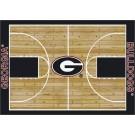 "Georgia Bulldogs 7' 8"" x 10' 9"" Home Court Area Rug by"