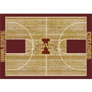 """Iowa State Cyclones 7' 8"""" x 10' 9"""" Home Court Area Rug by"""