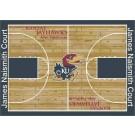 "Kansas Jayhawks 7' 8"" x 10' 9"" Home Court Area Rug by"