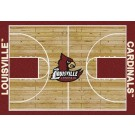 "Louisville Cardinals 5' 4"" x 7' 8"" Home Court Area Rug"