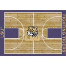"Louisiana State (LSU) Tigers 7' 8"" x 10' 9"" Home Court Area Rug by"