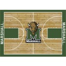 "Marshall Thundering Herd 7' 8"" x 10' 9"" Home Court Area Rug by"