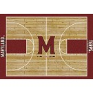 "Maryland Terrapins 7' 8"" x 10' 9"" Home Court Area Rug by"