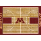 """Minnesota Golden Gophers 7' 8"""" x 10' 9"""" Home Court Area Rug by"""