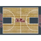 "Mississippi (Ole Miss) Rebels 7' 8"" x 10' 9"" Home Court Area Rug by"