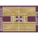 "Mississippi State Bulldogs 7' 8"" x 10' 9"" Home Court Area Rug by"