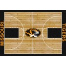 """Missouri Tigers 7' 8"""" x 10' 9"""" Home Court Area Rug by"""