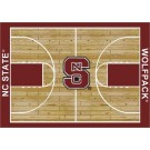 "North Carolina State Wolfpack 7' 8"" x 10' 9"" Home Court Area Rug by"