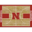 "Nebraska Cornhuskers 7' 8"" x 10' 9"" Home Court Area Rug by"