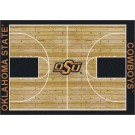 """Oklahoma State Cowboys 7' 8"""" x 10' 9"""" Home Court Area Rug by"""
