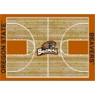 """Oregon State Beavers 7' 8"""" x 10' 9"""" Home Court Area Rug by"""