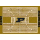 """Purdue Boilermakers 7' 8"""" x 10' 9"""" Home Court Area Rug by"""