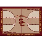 """USC Trojans 7' 8"""" x 10' 9"""" Home Court Area Rug by"""