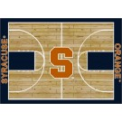 """Syracuse Orangemen 7' 8"""" x 10' 9"""" Home Court Area Rug by"""