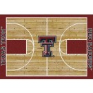 "Texas Tech Red Raiders 7' 8"" x 10' 9"" Home Court Area Rug by"