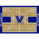 "Villanova Wildcats 7' 8"" x 10' 9"" Home Court Area Rug by"
