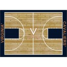 "Virginia Cavaliers 7' 8"" x 10' 9"" Home Court Area Rug by"