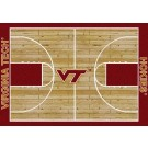 "Virginia Tech Hokies 7' 8"" x 10' 9"" Home Court Area Rug by"