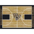 "Wake Forest Demon Deacons 7' 8"" x 10' 9"" Home Court Area Rug by"