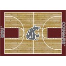 "Washington State Cougars 7' 8"" x 10' 9"" Home Court Area Rug by"